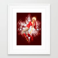 android Framed Art Prints featuring Android by MellodyDoll