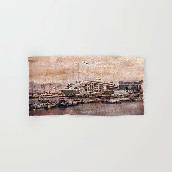 Sunborn Yacht Hotel, Gibraltar Hand & Bath Towel