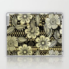 Floral Ink Laptop & iPad Skin