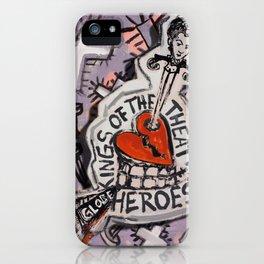 The Globe Heroes iPhone Case