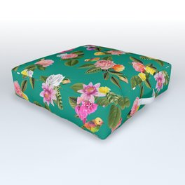 Frida Floral Outdoor Floor Cushion