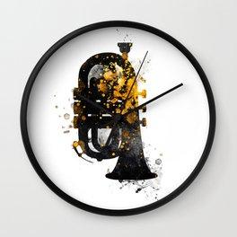 Tuba music art #tuba  Wall Clock