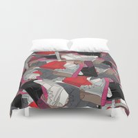lv Duvet Covers featuring YZY x LV  by RaymondDesignz
