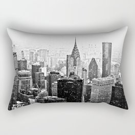 New York City Chrysler Building Rectangular Pillow