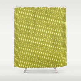 modern green background Shower Curtain