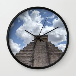 Chichen Itza Mex Wall Clock