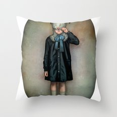 Scapegoat Throw Pillow
