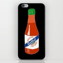 Crystal Hot Sauce iPhone Skin