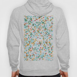 handmade coloured squares Hoody