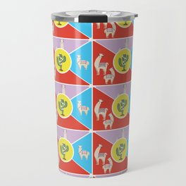 Llama and Alpaca Travel Mug