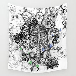 Dead Rose Decay I Wall Tapestry