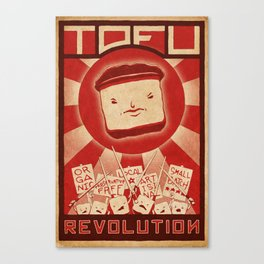 Tofu Revolution Canvas Print