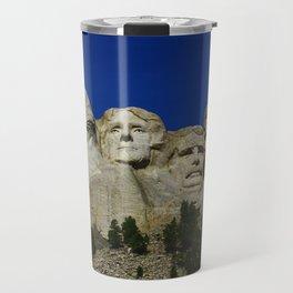 Mount Rushmore Travel Mug