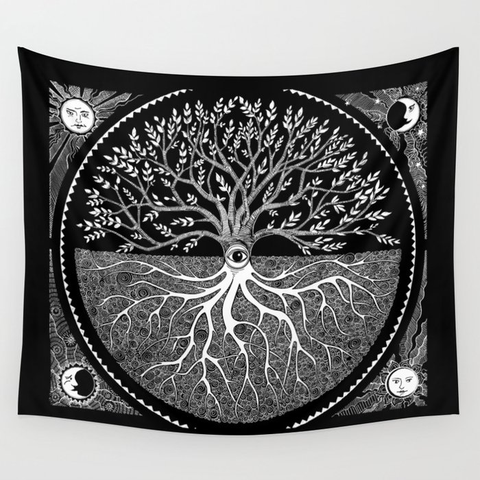 Druid Tree of Life Wall Tapestry