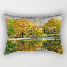 City's Autumn Rectangular Pillow