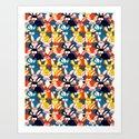 Rabbit colored pattern no2 by happyplum