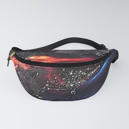 Beauty of Pollution / Aerosol Earth - Western Part Fanny Pack