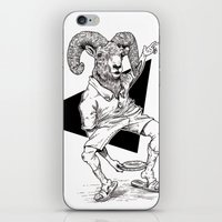 ram iPhone & iPod Skins featuring Ram by Hopler Art