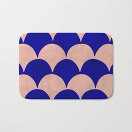 BUMPY - pink/blue Bath Mat
