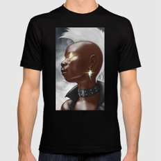 Ororo Mens Fitted Tee SMALL Black