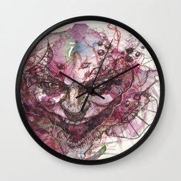 Watercolor Arkham Joker Wall Clock