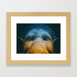 Ganesha Hindu God Indian Art Framed Art Print