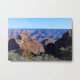 Touching The Soul Metal Print