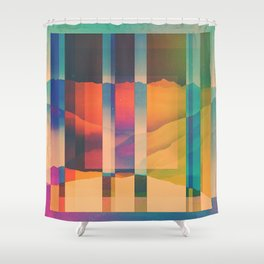 Fractions C06 Shower Curtain