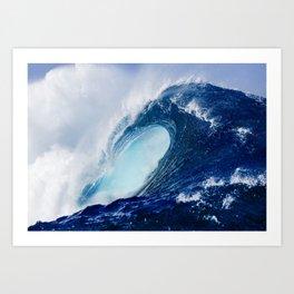 Big Blue Wave Art Print