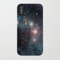 outer space iPhone & iPod Cases featuring Outer Space by apgme