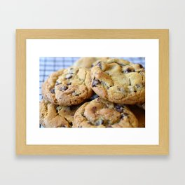 Cookies are Cooling Framed Art Print
