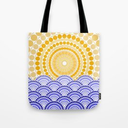 LIGHT OF DAWN (abstract tropical) Tote Bag