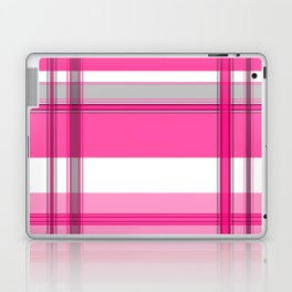 Shades of Pink and White II Laptop & iPad Skin