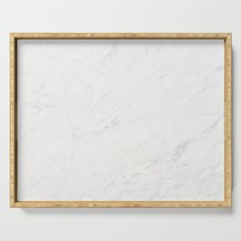 White Marble Serving Tray