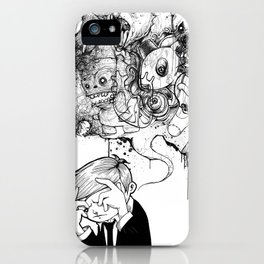 A Heavy Heart iPhone Case