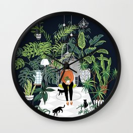 dark room print Wall Clock