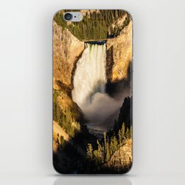 Lower Falls of the Yellowstone iPhone Skin