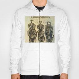 3 Wise Monkeys  Hoody