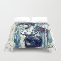 will graham Duvet Covers featuring Will Graham by AkiMao