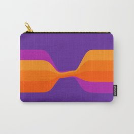 Purple Twist Carry-All Pouch