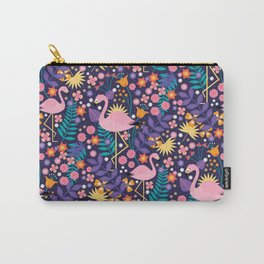 Flamingo Tropical Carry-All Pouch