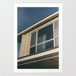 Eyes of the Building Art Print