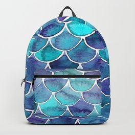 Scales blue palette Backpack