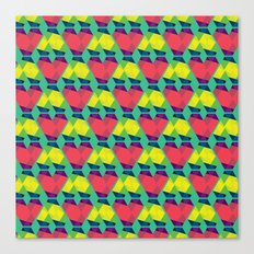 BP 82 V Diamonds Canvas Print