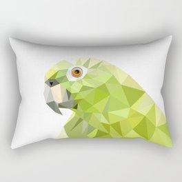 Parrot art Southern mealy amazon parrot Rectangular Pillow