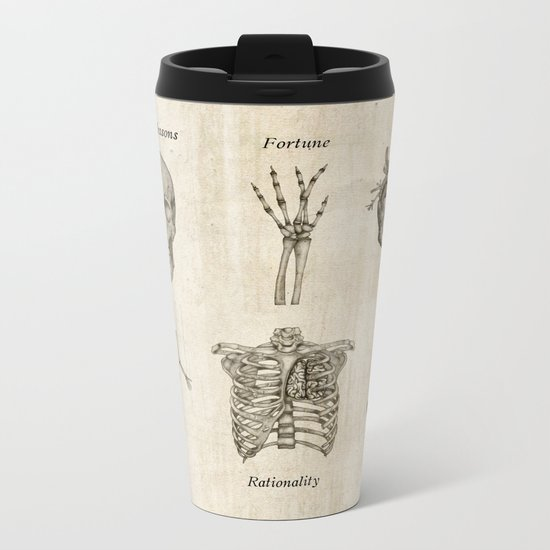 Anatomy lessons Metal Travel Mug