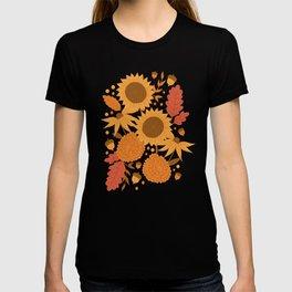 Sunflowers + Mums T-shirt