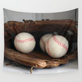 Baseball Glove Wall Tapestry