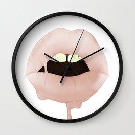 Dirty Talk Wall Clock