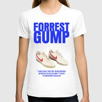 forrest gump T-shirts featuring Forrest Gump Movie Poster by FunnyFaceArt